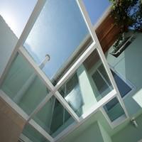 Cobertura de vidro temperado ou laminado