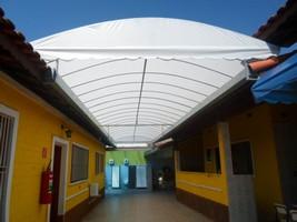 Lona para cobertura de telhado