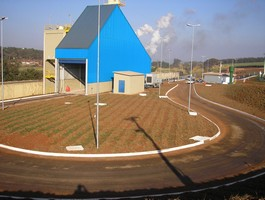 Casa de estrutura metálica
