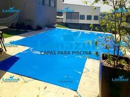 Cobertura de piscina de lona
