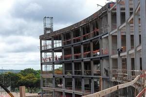Construção civil de estruturas metálicas